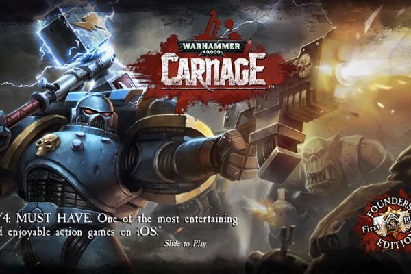 Roadhouse Interactive: Warhammer 40,000 Carnage